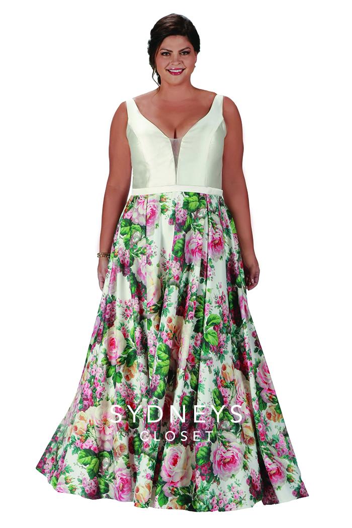balklänning, festklänning, tärnklänning plus size