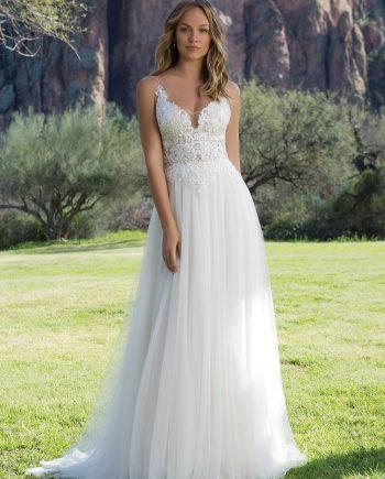 Brudklänning från Sweetheart, en av Justin Alexander Kollektioner. Brudkjole