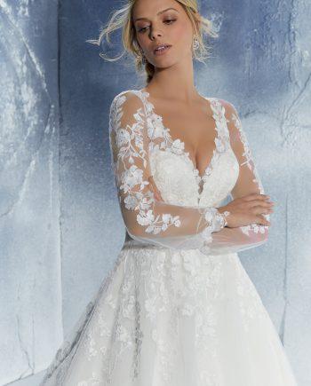 Brudklänning, bröllopsklänning, Bröllopskläder. Bröllopsbutik, Sofia Bianca, Morlilee, Ronald Joyce, Bröllopsbutik Malmö