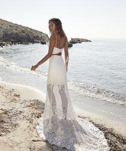 Brudklänning från HerveParis i bohemisk stil. enkla brudklänningar, Bröllopsbutik i Malmö